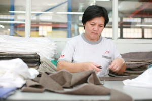 producing a luxury sofa in Vietnam