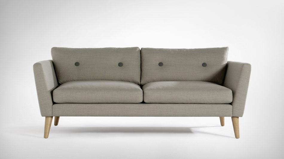 Silke Danish Fabric Sofa Available Online In Vietnam
