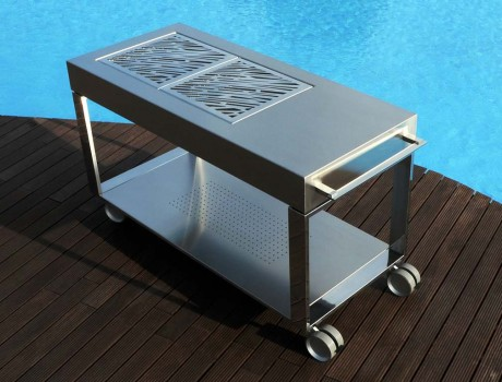 Tacora stainless steel luxury barbecue
