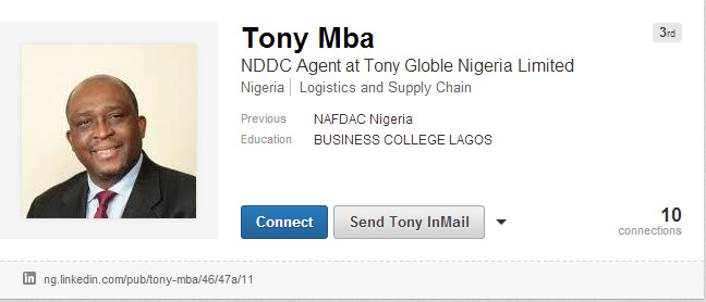 Scams targeting furniture industry professionals 4 Tony Mba