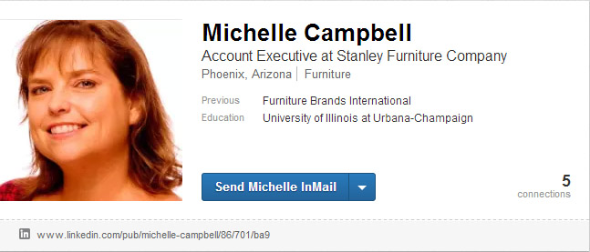 Scams targeting furniture industry professionals 7 Michelle Campbell