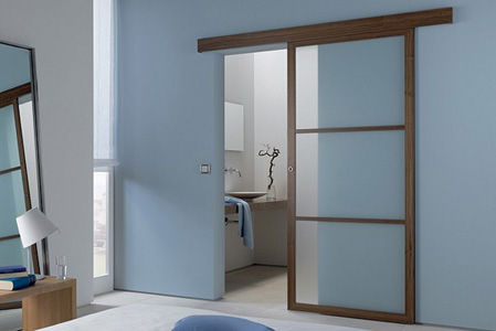 Sliding door save space in your apartment 1