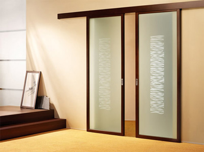 Sliding door save space in your apartment 2