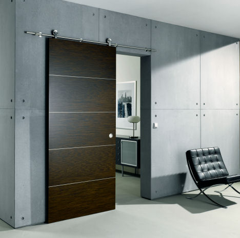 Sliding door save space in your apartment 3