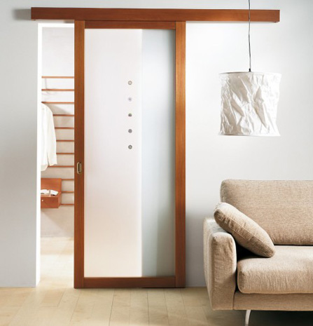 Sliding door save space in your apartment 4