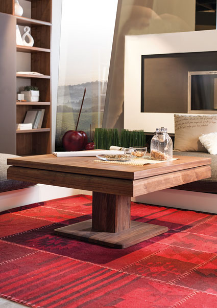 interior decorating make small apartment look bigger coffee table 1