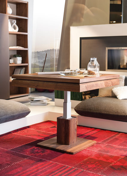 interior decorating make small apartment look bigger coffee table 2