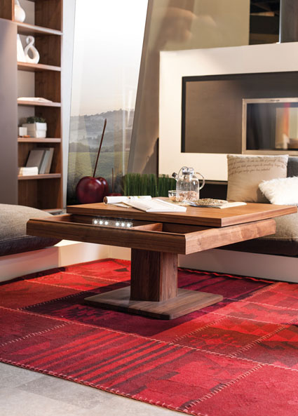 interior decorating make small apartment look bigger coffee table